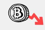 Курс Bitcoin продолжил падать. За неделю криптовалюта подешевела на 10%