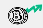 Bitcoin подорожал на 76% за последние две недели